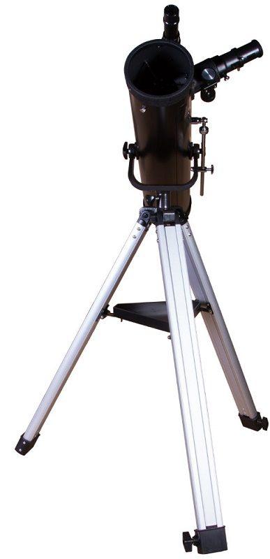 Телескоп рефлектор Ньютона на азимутальной монтировке Levenhuk (Левенгук) Skyline BASE 80S