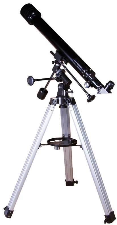 Телескоп рефрактор на экваториальной монтировке Levenhuk (Левенгук) Skyline PLUS 60T