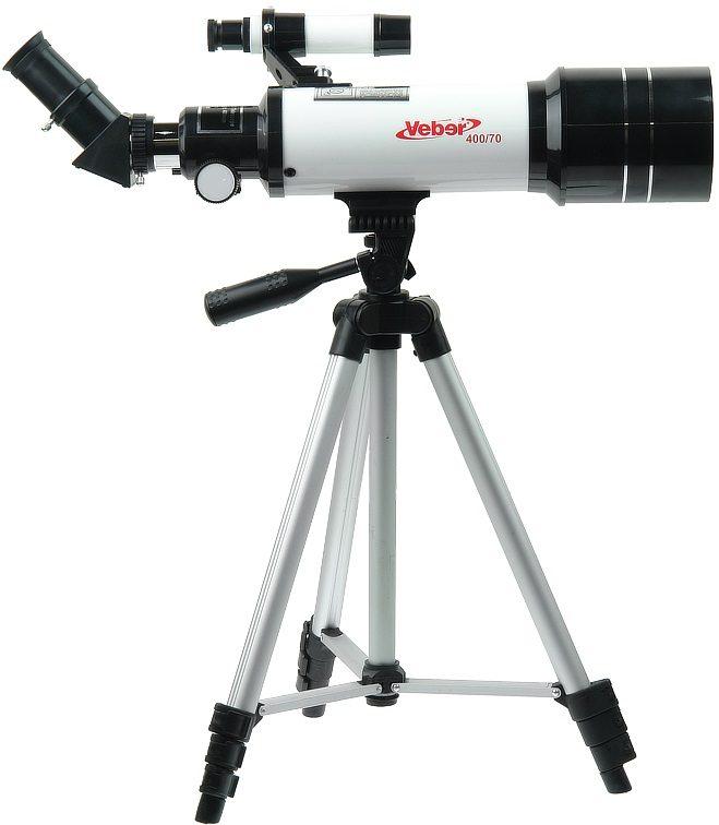 Телескоп рефрактор с рюкзаком Veber (Вебер) 400/70