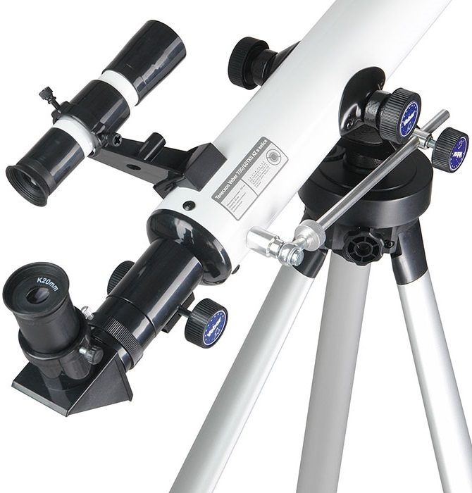 Телескоп рефрактор в кейсе Veber (Вебер) F 700/60TXII AZ