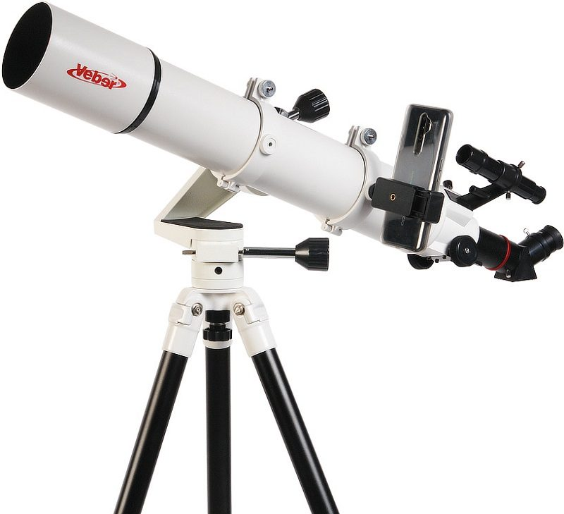 Телескоп рефрактор Veber (Вебер) PolarStar II 700/80AZ
