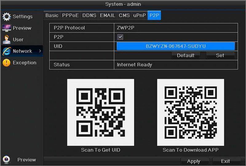 Сетевой 16-ти канальный nvr видеорегистратор для ip камер Millenium 3516T1