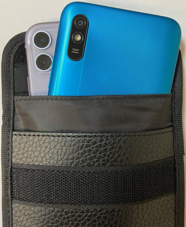 Экранирующий чехол блокиратор Фарадея для телефонов Nano Max Premium
